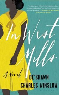 Illustrated cover of the novel In West Mills