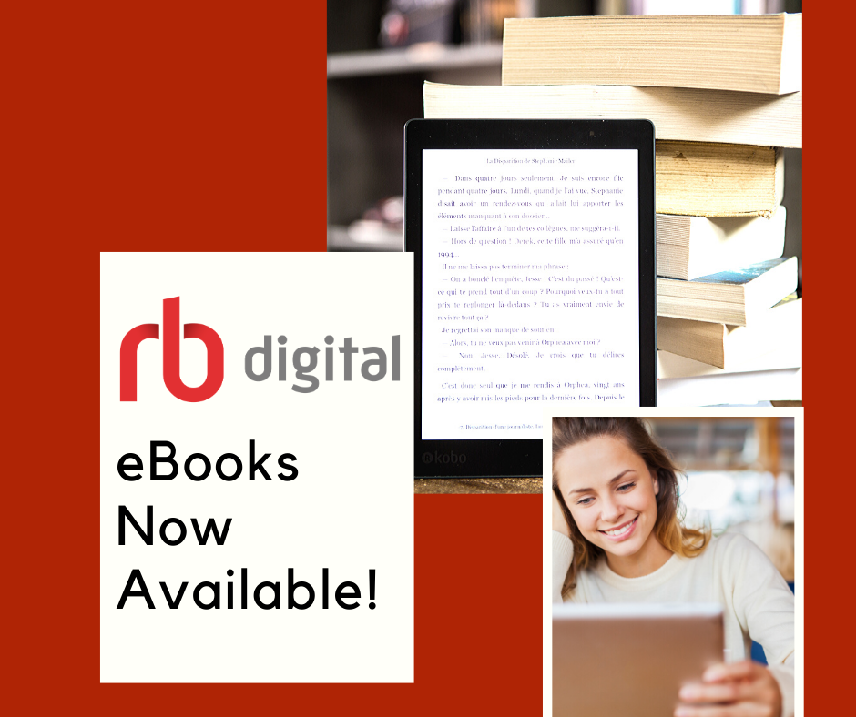 RBDigital Now Offers eBooks!